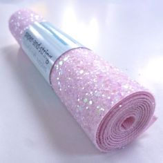 Chunky Glitter Material is fabulously sparkly. It's a heavy cotton drill smothered in glue with a very generous layer of multi size glitter on top. Vinyl Fabric, Fabric Bows, Glitter Fabric, Lace Fabric, Mini Rolls, Custom Bows, Glitter Crafts, Cute Stationery, Glitter Hair