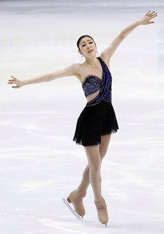 Yuna Kim. Figure skater.