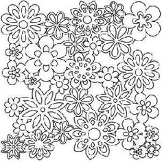 The Crafters Workshop template - Gathered flowers