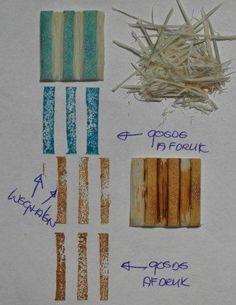 Stempel Yvon: Stamp Carving les 2: Lijntjes in elkaar passend