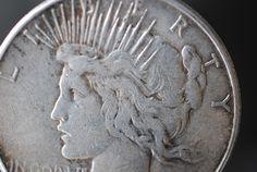 United States peace dollar 1923