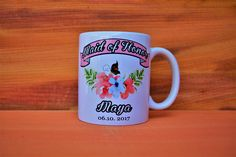 maid of honor mugmaid of honor giftbridesmaid mugsmaid of