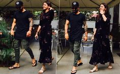 Spotted: Anushka Sharma And Virat Kohli On A Lunch Date In Bengaluru