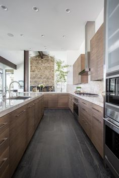 Open-Concept Kitchen Designs Open-concept is the hottest home trend right now, and after you see these 20 open-concept kitchen designs, you will understand why! Home Decor Kitchen, Kitchen Furniture, New Kitchen, Kitchen Ideas, Kitchen Wood, Island Kitchen, Kitchen Country, Cheap Furniture, Kitchen Tips