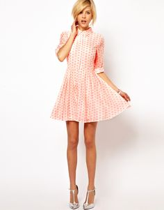 15 Adorably Retro Day Dresses you'll want to Wear all Summer Long... with Sneakers | Babble