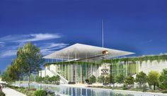 ΝΕΑ Λυρική Σκηνή - Σχέδια των νέων εγκαταστάσεων της ΕΛΣ στο Κέντρο Πολιτισμού Ίδρυμα Σταύρος Νιάρχος (RPBW)