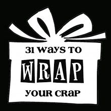 Tons of fun giftwrap ideas .. and what this girl can do on the cheap is amazing!