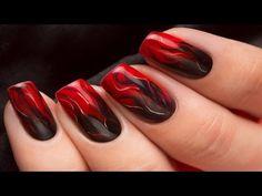 Abstraktes Multichrome Stamping Nageldesign / Nail Art Design Tutorial - YouTube