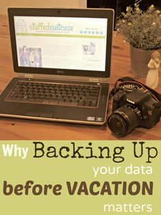 Why Backing Up your Data and Photos Matters StuffedSuitcase.com #vacation #tip
