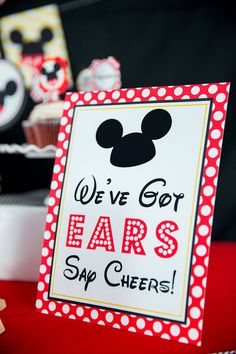 Mickey Mouse Party Ideas - Mickey's Clubhouse - Pretty My Party Mickey 1st Birthdays, Mickey Mouse Bday, Mickey Mouse First Birthday, Theme Mickey, Mickey Mouse Clubhouse Birthday Party, Mickey Mouse Parties, Mickey Party, 1st Boy Birthday, 2nd Birthday Parties