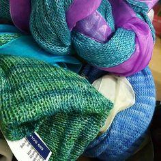 Swimming in colour...and silk #oceancolours #newromantics  #etsyuk #silkandalpaca #lacysocks #rockmysocks #rockmywedding #stockings #thighhighs #overtheknee #kneehighsocks