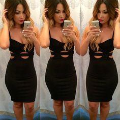 Sexy #black #dress