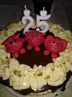 Pistáciový dort s čokoládou Cake, Desserts, Tailgate Desserts, Pie, Kuchen, Dessert, Cakes, Postres, Deserts
