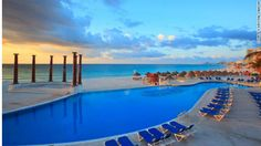 8 great budget friendly all-inclusive resorts: Krystal Cancun is in the heart of the Hotel Zone on Punta Cancun.