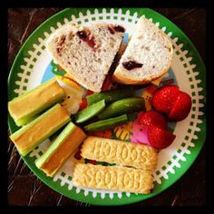 Easy Toddler Food: Lunch again