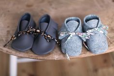junkaholique: hand made moccasins--for Charlotte?