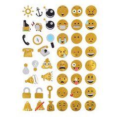 Emoji Tattoo Stickers