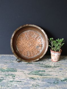 Hey, I found this really awesome Etsy listing at https://www.etsy.com/listing/239463687/antique-copper-plated-tray-farmhouse