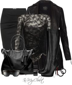 Rock the Black - #2 by in-my-closet on Polyvore