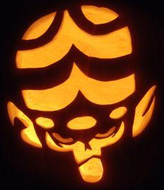 Mojo Jojo Pumpkin by johwee on DeviantArt
