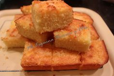 Pastel de maíz con limón
