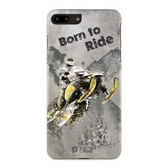 Snowmobile iPhone 7 Plus Sport Case Cover