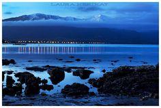 Kaikoura, New Zealand. Where the mountains meet the sea. <3