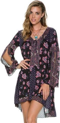 O'neill X Anna Sui Dottie Dress