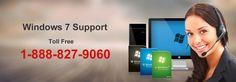 #Windows7 #Customer Support 1-888-827-9060