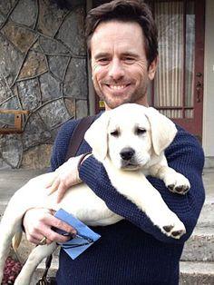 Charles Esten (be still my heart) Adopts Onscreen Dog