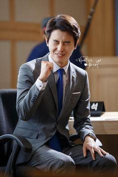 Asian Actors, Korean Actors, My Shy Boss, Introverted Boss, Seo Joon, Joon Gi, Yeon Woo Jin, Jung Il Woo, Yoo Seung Ho