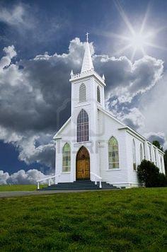 Historic Saint Teresa of Avila church in Bodega, California built in 1859.