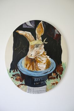 Katie Blundell, Out of the hat, 2015.