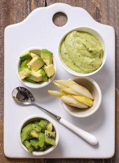 Avocado + Pear + Kiwi Puree — Baby FoodE | organic baby food recipes to inspire adventurous eating