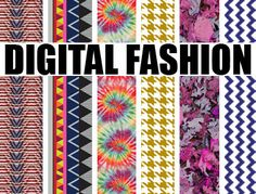 Digital Fashion Prints - make decals for Vespa