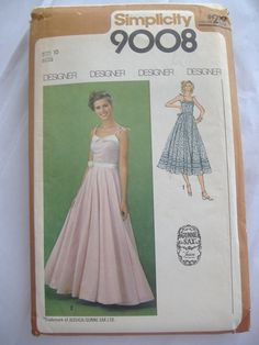 Simplicity 9008 Gunne Sax Pattern for Misses' by RetroSpecial, $15.75