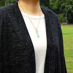 #opal #aventurine #necklace by #cristinazazo