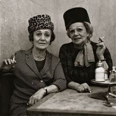 Diane Arbus  American, 1923–1971  Two Ladies at the Automat (New York City), 1966, printed 1977