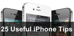 25 Useful iPhone Tips