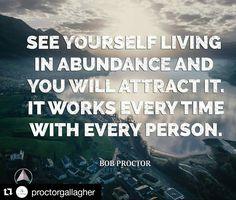 #Repost @proctorgallagher with @repostapp  From abundance he took abundance and still abundance remains.  #BobProctor #Abundance #Live #Attraction #greatness #greatnessiswithinyou #life #livelifetothefullest #gratitude #dowork
