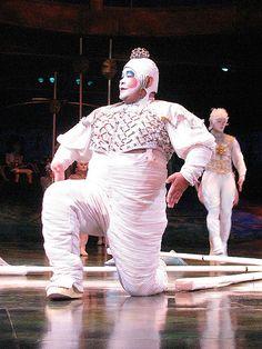 Cirque Du Soleil - Alegria - black, white