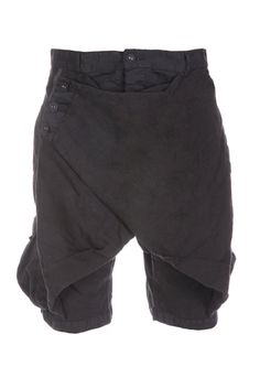 Delusion Parachute Shorts Black 1/1 Only One Ever Made