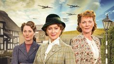 See Francesca Annis (Reckless, Cranford) and Samantha Bond (Downton Abbey) in a new series about courage, friendship, and love in war time. Home Fires airs in 6 episodes, Sunday nights at October 4 - November 2015 on MASTERPIECE on PBS. Period Drama Series, British Period Dramas, Drama Tv Series, Masterpiece Mystery, Masterpiece Theater, Samantha Bond, Francesca Annis, Call The Midwife, Episode Online