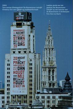 Henry van de Velde Award Loopbaan Gert Dooreman De Boerentoren schrijft | Design Vlaanderen