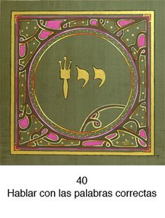 72 Nombres de Dios - Letras Hebreas Names Of God, Jewish Art, Judaism, Witch, Mandala, Spirituality, Mindfulness, Tapestry, Frame
