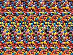 Remember the Magic Eye pictures from the '90's? Can you see the 3D image?