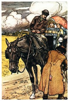Illustrations for Black Beauty by Lucy Kemp-Welch 1914