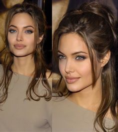 Beautiful Celebrities, Beautiful Actresses, Gorgeous Women, Angelina Jolie Photos, Angelina Jolie Hairstyles, Hair Inspo, Hair Inspiration, Photographie Portrait Inspiration, Makeup Looks