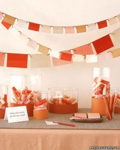"See the ""Origami Paper Banner"" in our  gallery"