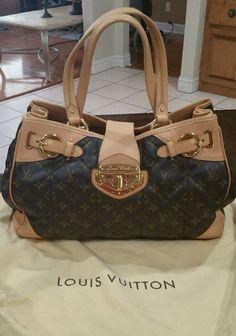100% Authentic Louis Vuitton Monogram Canvas Etoile Shopper Bag! L@@K! #LouisVuitton #TotesShoppers